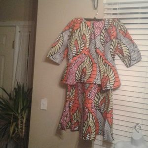 Dresses & Skirts - Gorgeous 3 pieces west African print garments